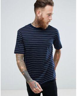 Man Breton T-shirt In Navy