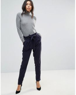 Civa Belted Peg Trousers