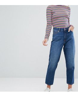 Taiki High Waist Mom Jeans