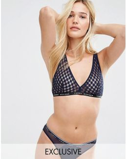 Triangle Dot Bra