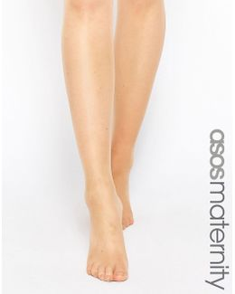 New Improved Fit' 15 Denier Tights In Sun Tan