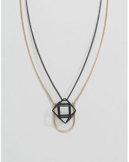 Geometric Pendant Necklace Pack