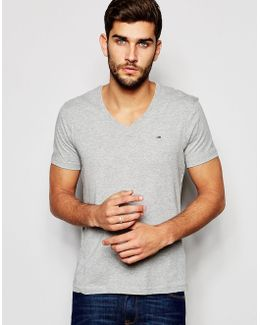 Tommy T-shirt With V Neck