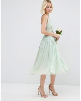 Wedding Hollywood Midi Dress