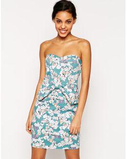 Flourescent Adolescent Wiggle Dress