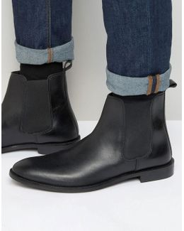 Chelsea Boots In Leather - Wide Fit Available