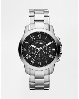 Grant Stainless Steel Chronograph Watch Fs4736