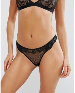 Ria Basic Lace Mix & Match Thong