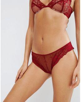 Ria Basic Lace Mix & Match Brazilian Pant