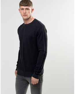 Engineered Jaquard Knitted Jumper