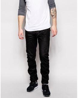 Jeans Arc Zip 3d Slim Fit Medium Black Aged