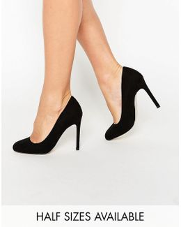 Playtime Square Toe High Heels