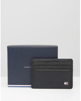 Eton Leather Cardholder In Black