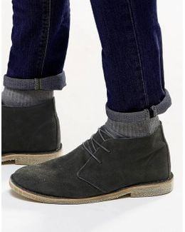 Desert Boots In Suede - Wide Fit Available