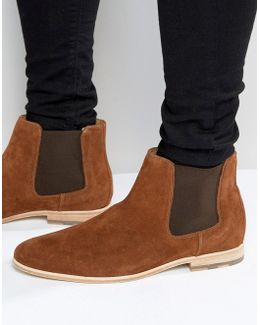 Jerenalia Suede Chelsea Boots
