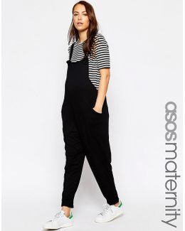 Dungaree Jumpsuit In Jersey