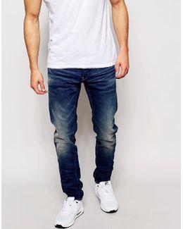 Jeans 3301 Slim Fit Firro Medium Aged Vintage Wash