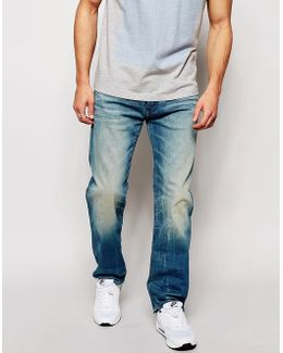 Jeans 3301 Loose Fit Cyclo Stretch Light Aged