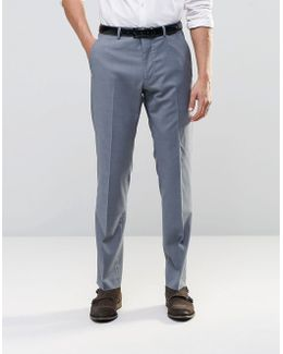 Wedding Slim Suit Trousers In Tonic