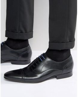 Umbber Toe Cap Oxford Shoes