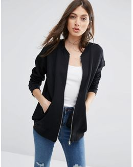 The Ultimate Bomber Jacket In Jersey