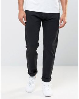 Jeans Hyperflex Anbass Slim Fit Comfort Ultra Stretch Black
