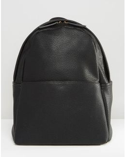 Minimal Backpack In Black