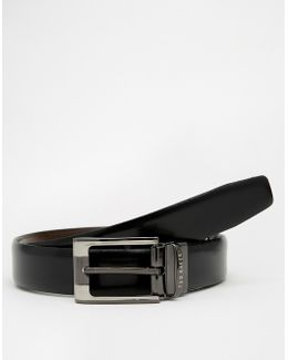 Crafti Leather Reversible Belt
