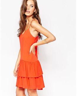 Bcbg Generation Mini Dress With Tiered Ruffles