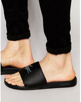 Fraisier Croc Slider Flip Flops
