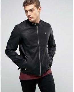 Avier Pu Leather Jacket