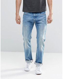 Elwood 5620 3d Slim Jeans Light Medium Aged