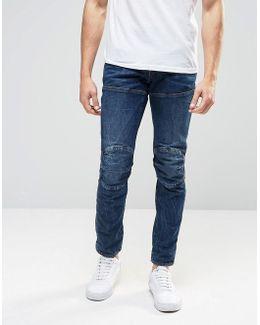 Elwood 5620 3d Slim Jeans Vintage Dark Aged