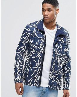 Rovic Military Jacket Weather Arrow Print