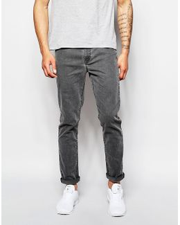 Skinny Jeans With Grey Tint