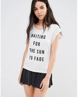 Fading Sun Pyjama Top