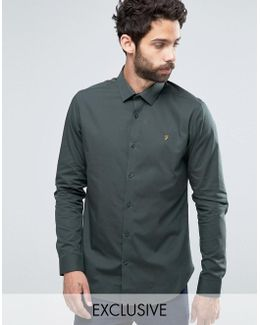 Classic Shirt In Slim Fit With Stretch