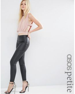 Ultimate Leather Look Treggings