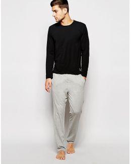 Lounge Pants In Slim Fit