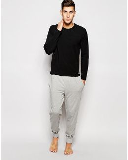 Cuffed Jogger In Slim Fit