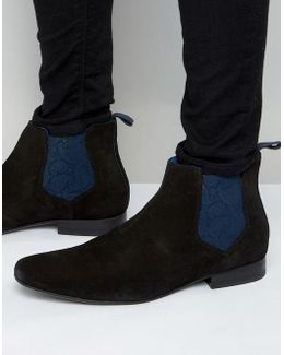 Hourb Suede Chelsea Boots