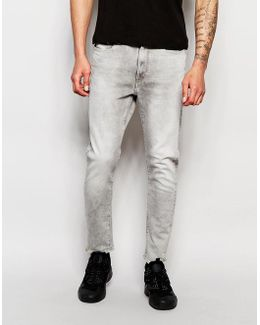 Jeans Type C 3d Super Slim Stretch Grey Light Aged