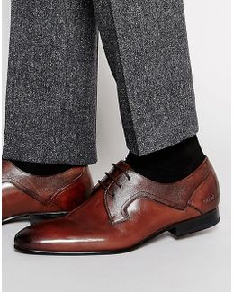 Pelton Leather Derby Shoes