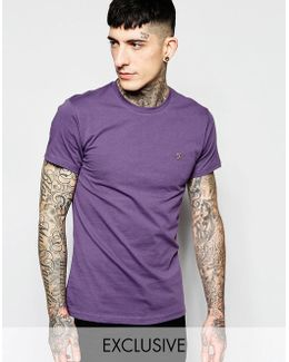 T-shirt With F Logo Slim Fit Exclusive