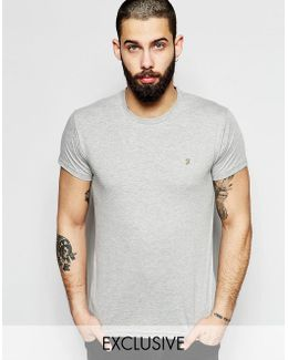 Farris Slim Fit T-shirt In Gray