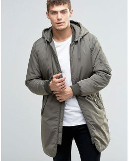 Originals Padded Parka With Detachable Hood