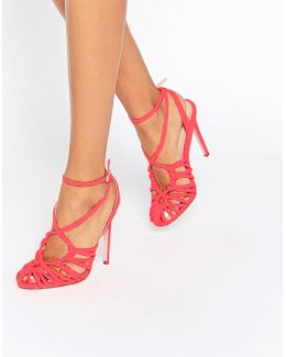 Perry Caged Heels