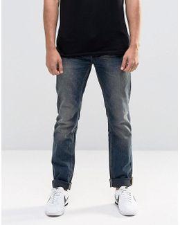 Twister Slim Jeans Mid Vintage Blue