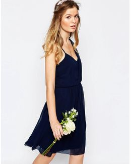 One Shoulder Sash Dress