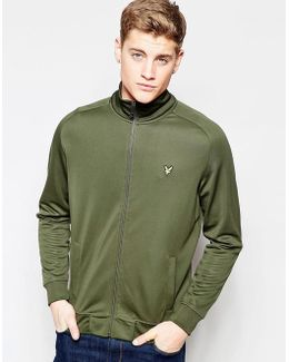 Tracktop With Eagle Logo In Green